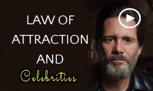 قانون جذب افراد مشهور و سلبریتی ها
